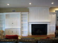 White Mantel Wall - Fullerton