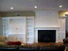 White Wall Unit - Fullerton