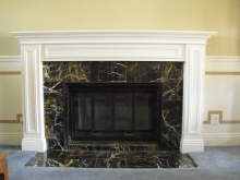 Johnson Living Room Mantel - Yorba Linda